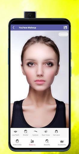 Face Makeup & Beauty Selfie Makeup Photo Editor 1.2 Screenshots 11
