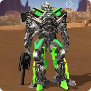Robot War Free Fire – Survival battleground Squad MOD: Unlimited energy, unlimited bullets!