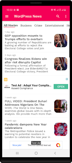 WordPress News App screenshot 16