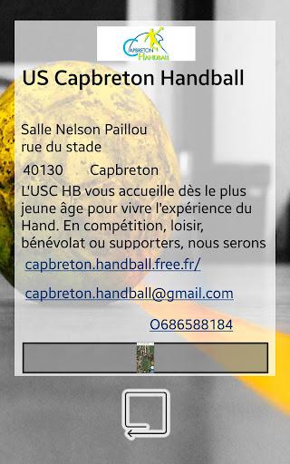 capbreton handball screenshot 2