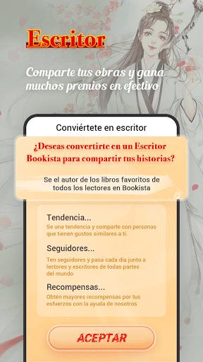 Bookista - La mayor app de novelas web en espau00f1ol android2mod screenshots 4