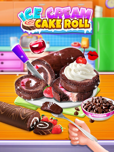 Ice Cream Cake Roll Maker - Super Sweet Desserts apkdebit screenshots 8