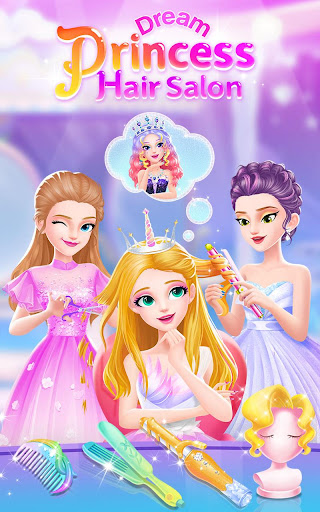 Princess Dream Hair Salon 1.1.3 screenshots 1