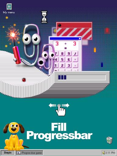 Progressbar95 - easy, nostalgic hyper-casual game 0.6800 screenshots 10