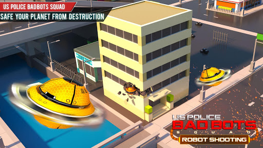 US Police Robot Shooting Crime City Game 2.9 screenshots 14