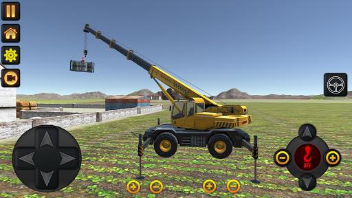 Dozer Crane Simulation Game 2 apkdebit screenshots 5