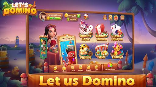 Letu2019s Domino Gaple QiuQiu Poker Game Online screenshots 1