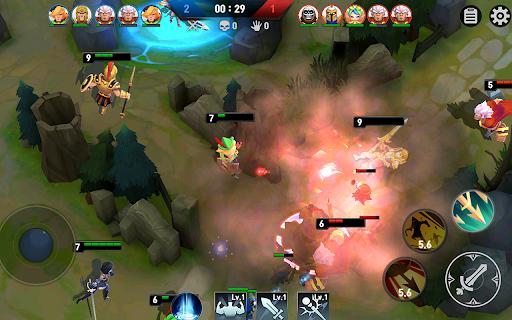Masters Battle League 5v5 : Legend MOBA PvPTrainer screenshots 13