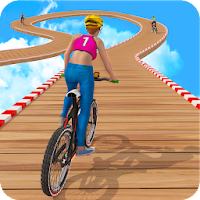 BMX Cycle Stunt Racing 3D: New Bicycle Games 2020