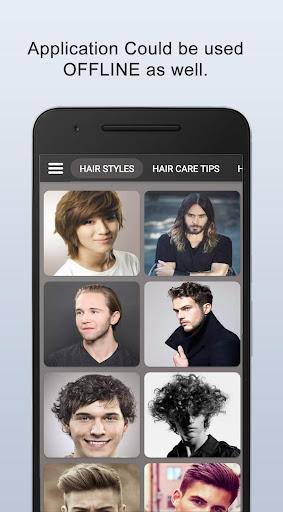 Boys Men Hairstyles and boys Hair cuts 2021 apktram screenshots 4