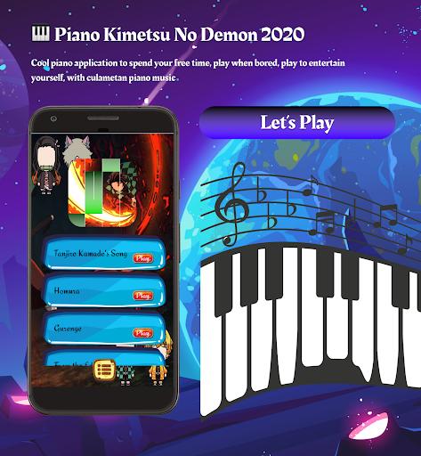 New Anime Games ud83cudfb9 Piano Kimetsu No Demon 2020 1.0.0 screenshots 5