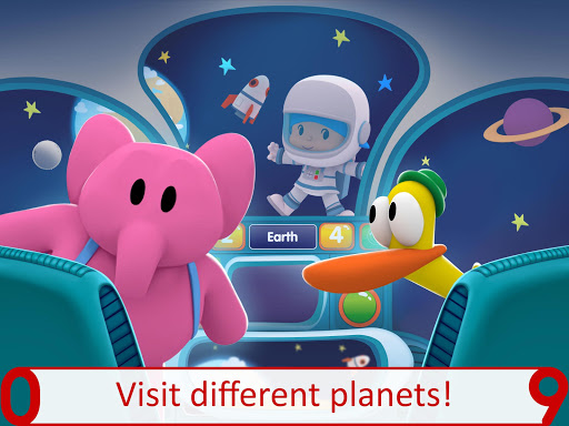 Pocoyo 1, 2, 3 Space Adventure: Discover the Stars  screenshots 9