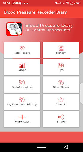 Blood pressure Tracker & bp diary 1.10 Screenshots 2
