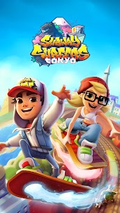 Subway Surfers (MOD, Unlimited Coins/Keys/All Characters) 1