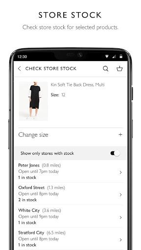 John Lewis & Partners modavailable screenshots 2