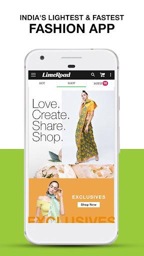 LimeRoad Online Shopping App for Women, Men & Kids 6.2.9 screenshots 2