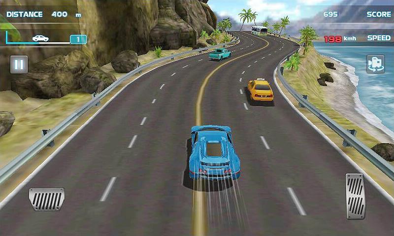 Turbo Driving Racing 3D MOD poster 0