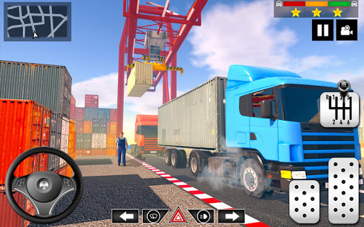 Cargo Delivery Truck Parking Simulator Games 2020  screenshots 8