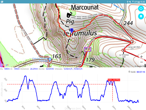 GPS for Hiking, Cycling, Hunting and offline maps modavailable screenshots 10