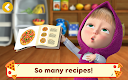 screenshot of Masha and the Bear Pizzeria Game! Pizza Maker Game
