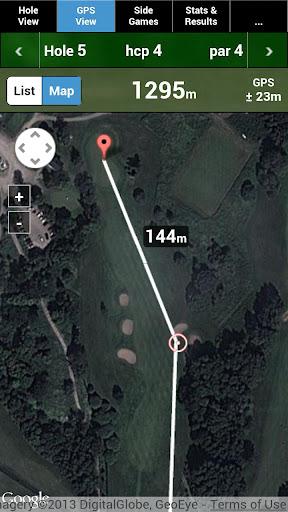 mscorecard - golf scorecard screenshot 1