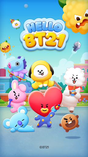 LINE HELLO BT21- Cute bubble-shooting puzzle game! 2.2.2 screenshots 8