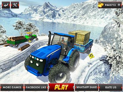 Farm Tractor Cargo Driving Simulator 20 screenshots 6