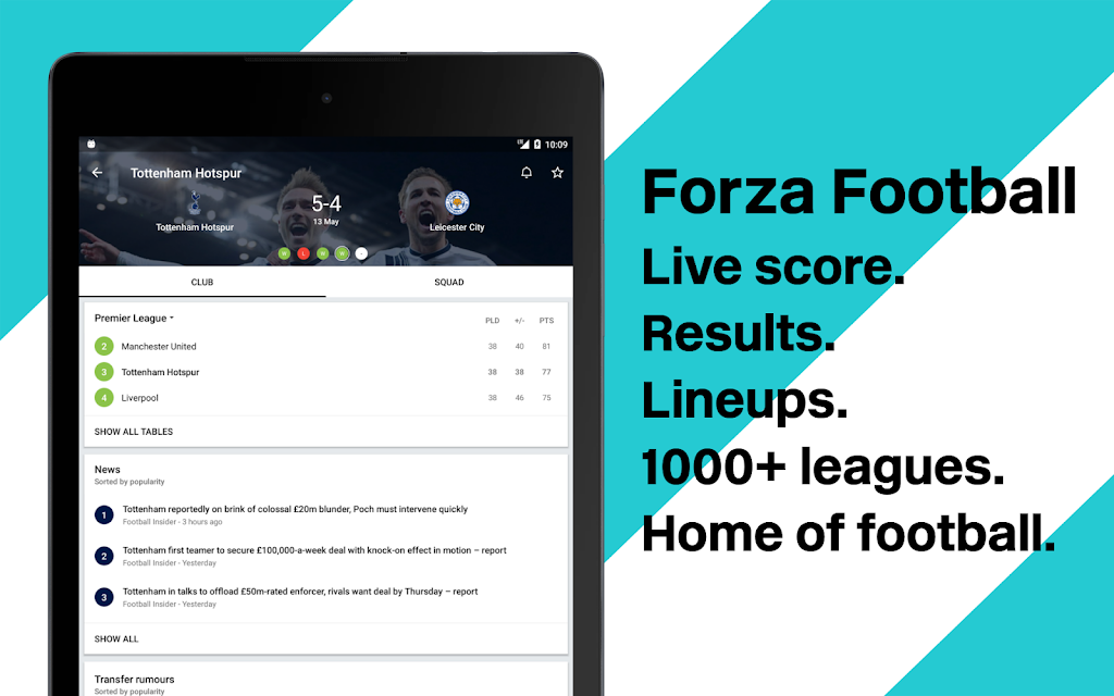 Forza Football - Live soccer scores  poster 5