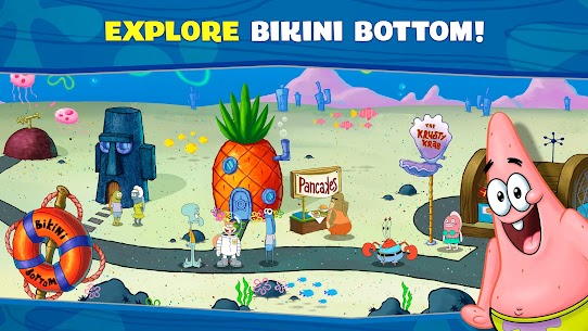 Spongebob: Krusty Cook-Off APK MOD Hackeado (Monedas Ilimitadas) 4