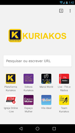 Foto do Browser Kuriakos