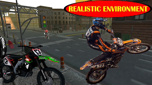 Motorcycle racing Stunt : Bike Stunt free game 2.1 screenshots 8