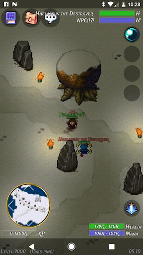 WinterSun MMORPG (Retro 2D) apkpoly screenshots 8