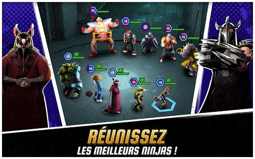 Code Triche Ninja Turtles: Legends  APK MOD (Astuce) screenshots 1
