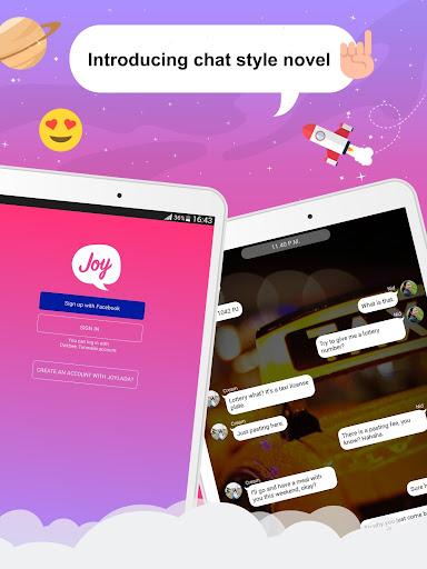 Joylada - Read All Kind of Chat Stories apktram screenshots 7