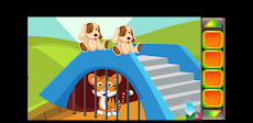 Best Escape Game 10 - Smart Tiger Cub Rescue Gameのおすすめ画像1