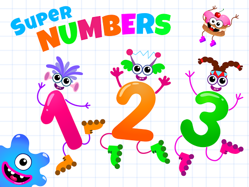 Learning numbers for kids! Writing Counting Games! apkslow screenshots 12