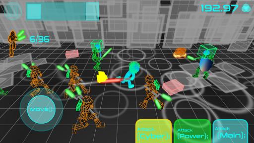 Stickman Neon Warriors: Sword Fighting screenshots 4