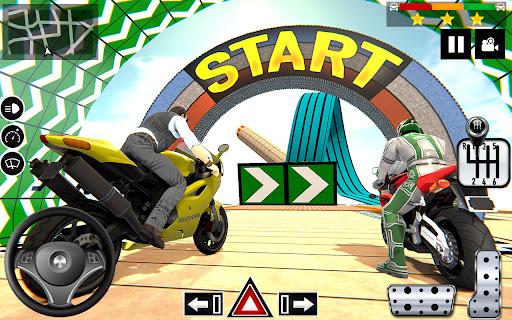 Impossible Stunts Bike Racing Games 2018: Sky Road  screenshots 13