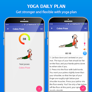 Yoga daily fitness - Yoga workout plan