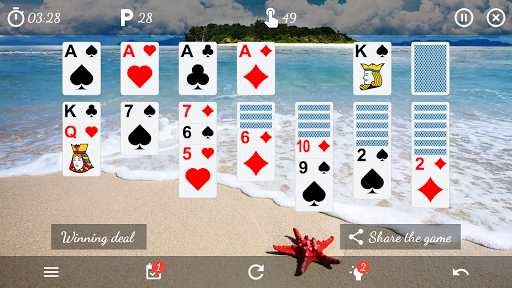 Solitaire Free Game 5.9 Screenshots 6
