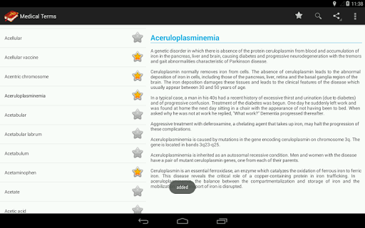 Medical Terminology Dictionary:Search&Vocabulary 3.6.0 Screenshots 13