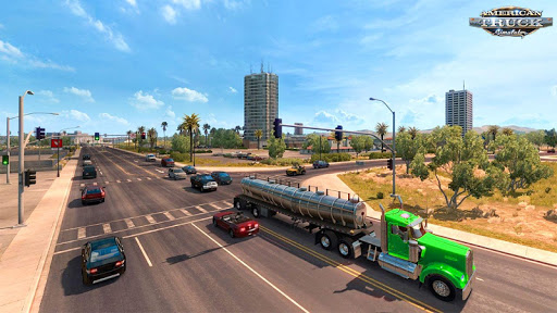 US Heavy Modern Truck: Grand Driving Simulator 3D  screenshots 1