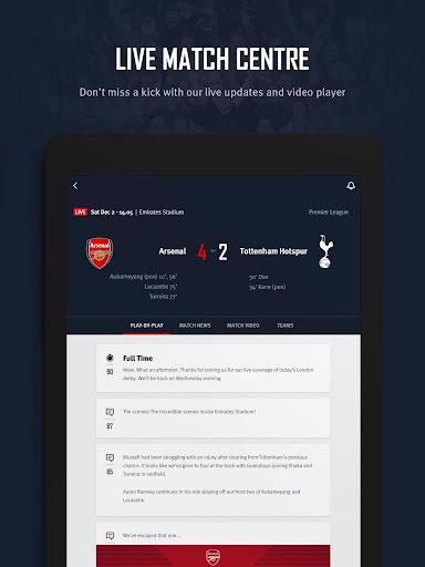 Arsenal Official App 6.0.3 Screenshots 11