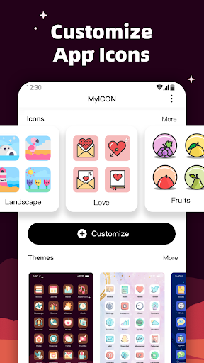 MyICON - Icon Changer, Themes, Wallpapers  screenshots 1