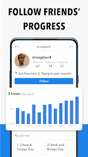 Hevy - Workout Tracker Planner Weight Lifting Log