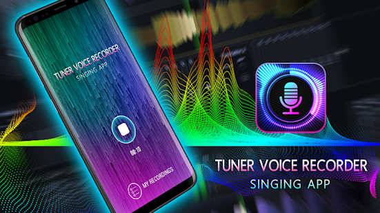 Tuner Voice Recorder – Singing App Screenshot