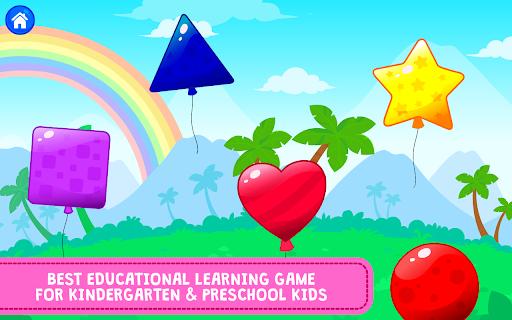 Balloon Pop : Preschool Toddlers Games for kids apkdebit screenshots 5