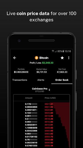 Delta - Bitcoin & Cryptocurrency Portfolio Tracker screenshots 6