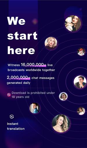 FaceCast:Make New Friends, Chat & Meet, Livestream android2mod screenshots 9