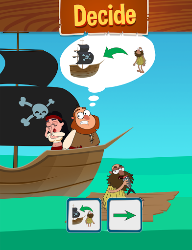 Save The Pirate! Make choices - decide the fate  screenshots 14